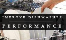 Improve dishwasher performance