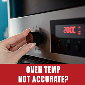 oven temp is not accurate