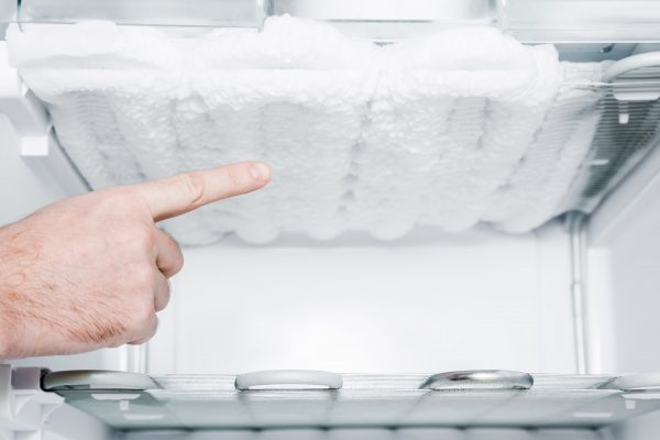 refrigerator not defrosting