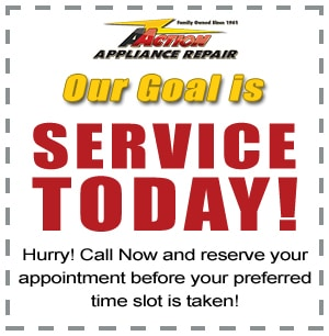 free appliance service call