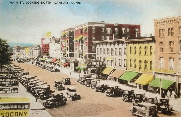 history of danbury
