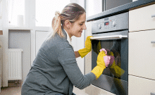 glass oven cleaning tips